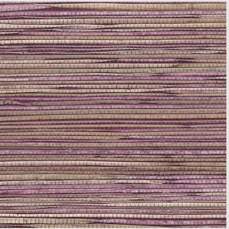Purple grasscloth from Grassroots collection by Phillip