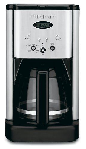 Cuisinart  クイジナート DCC-1200 Brew Central 12-Cup Programmable Coffeemaker 12カップコーヒーメーカー 【並行輸入品】 (Brushed Chrome) Cuisinart (クイジナート) http://www.amazon.co.jp/dp/B00005IBX9/ref=cm_sw_r_pi_dp_q6qdwb053M8WC