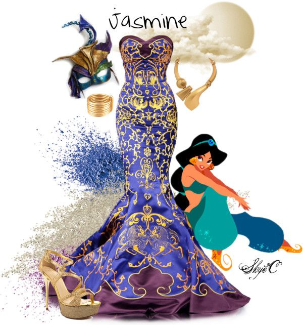 """Jasmine Inspired Outfit"" by rubytyra on Polyvore"