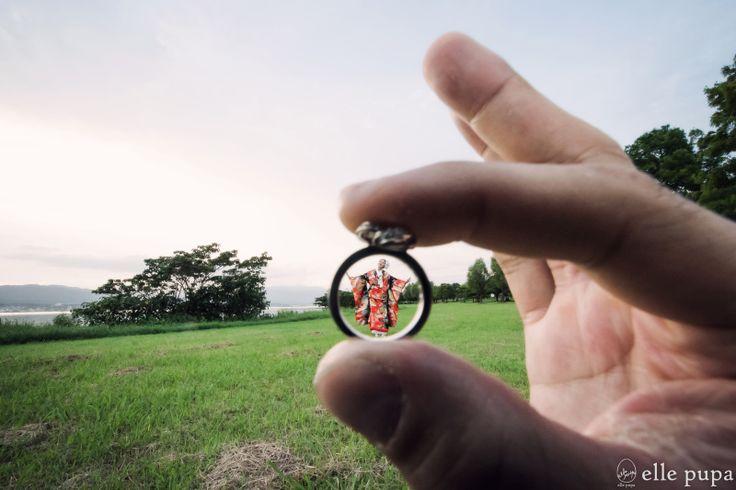 ふわりふーさん*祇園と琵琶湖*前撮り  *ウェディングフォト elle pupa blog* Ameba (アメーバ)