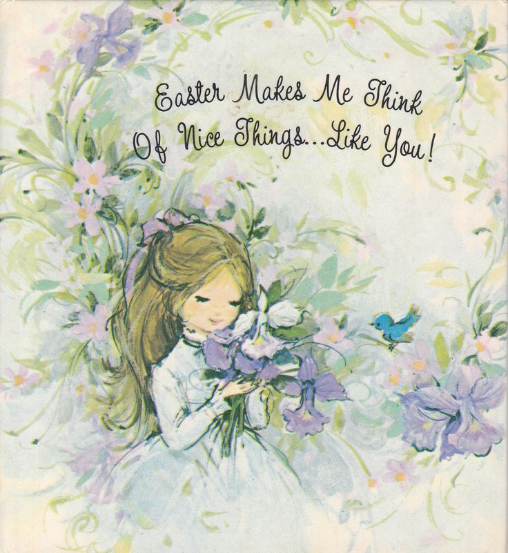 164 best vintage easter images on pinterest vintage easter easter makes me think of nice things like you by jean kyler mcmanus vintage gift book negle Choice Image