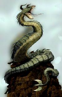 Image result for horned serpent