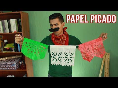 El Mejor Papel Picado + Instrucciones descargables | Fiestas Mexicanas - YouTube