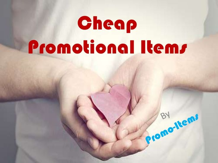 Cheap Promotional Items..!