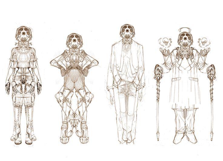character sketch, yasu _ on ArtStation at https://www.artstation.com/artwork/yB3OK
