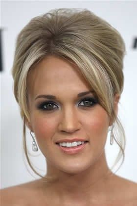 up-do up-do up-do: Hairstyles, Wedding Hair, Hair Styles, Wedding Ideas, Makeup, Updos, Carrie Underwood, Hair Color