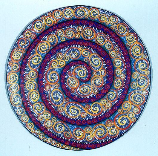 Mandala of Spirals...                                                                                                                                                                                 Más