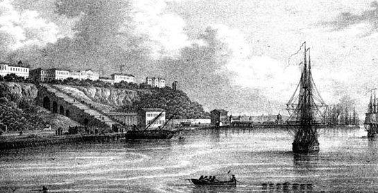 Odessa's Harbor in old days #Odessa #tour