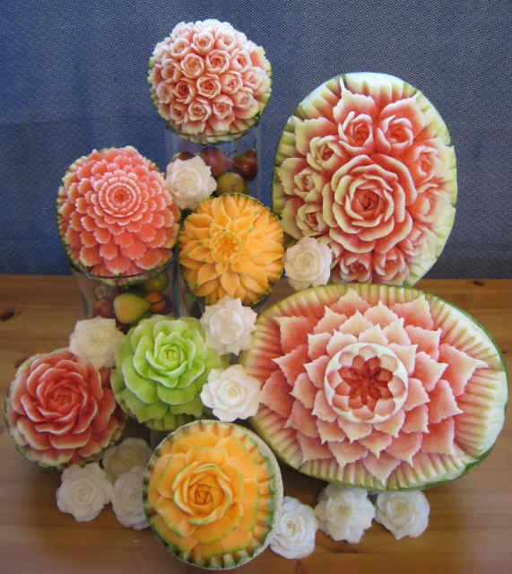 Best ideas about fruit carvings on pinterest food art