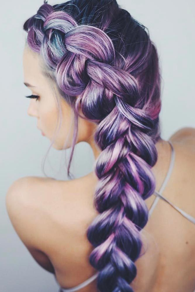 different style of braiding hair best 25 different braids ideas on different 5472 | 7b86284d1cc5c59652c2c6d8c7250e7f purple braids comment