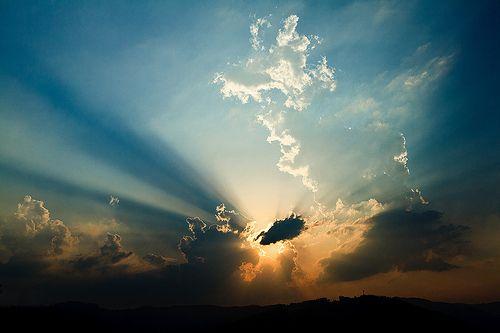 Magical sunset photo by Norbert Králik