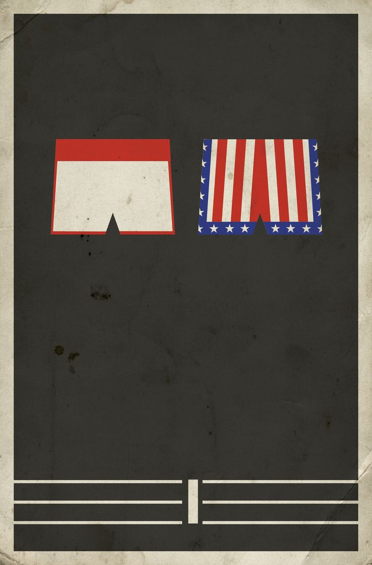 Rocky  Minimalist Poster by Matt Owen