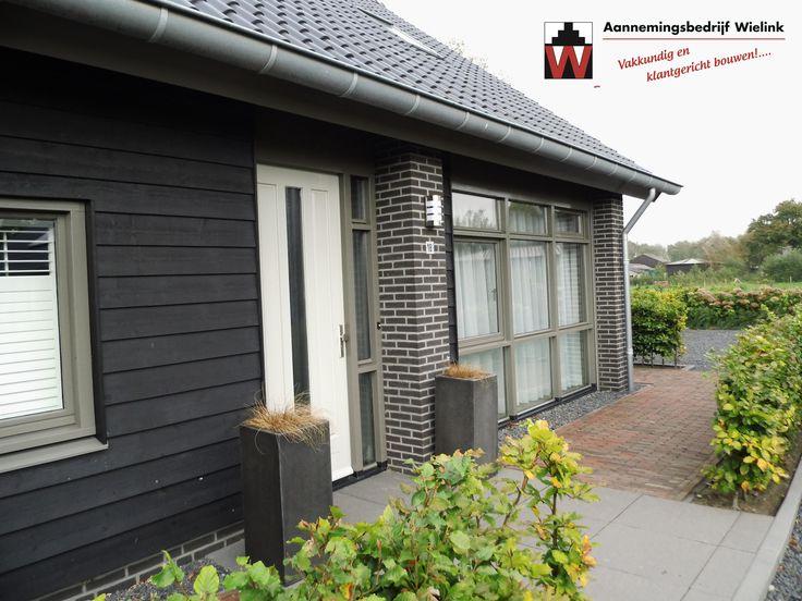 Schuurwoning bouwen! www.aannemersbedrijfwielink.nl – Vraag om gratis bouwadvies! Schuurwoning combinatie metselwerk gepotdekseld planken * Ontwerp schuurwoning * Schuurwoning bouwen kosten * schuurwoningen ontwerpen