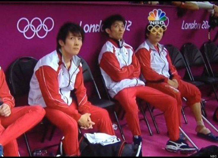Perfectly Timed Photos      Leave it to Ken to cheer everybody up.  Olympic Spirt!