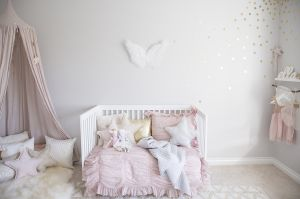 Check out five gorgeous paint color options for a stunning gender neutral nursery.