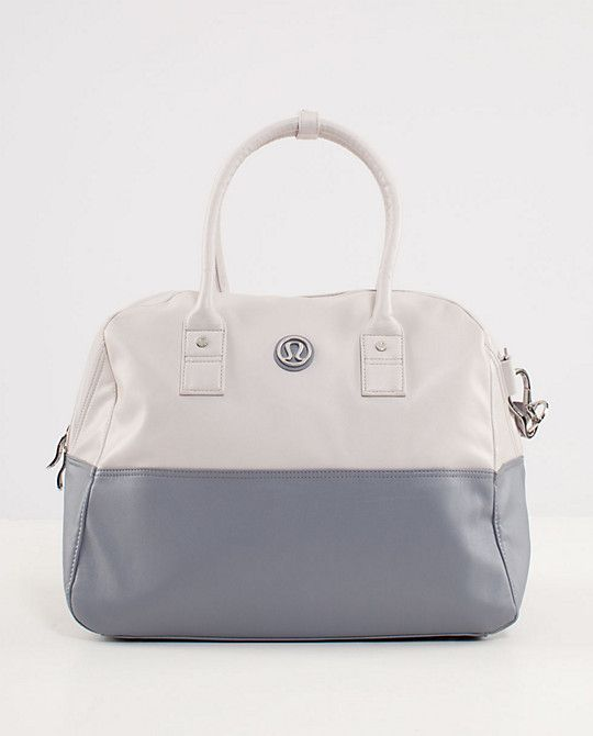 Lulu Lemon's Daily Gym Bag. You have to be ready before you get set and go.