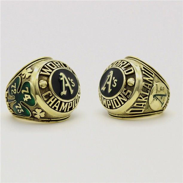 Oakland Athletics 1974 MLB World Series Championship Ring for Sale Click Bio to Buy #oaklandathletics #athleticsbaseball #MLB #worldseries #baseball #baseballgame #worldserieschamps #worldserieschampions #championshipring #mlbplayoffs #mlbbaseball