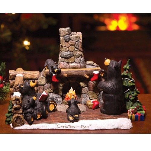 1000 images about rustic home decor on pinterest metal - Black Bear Christmas Decor