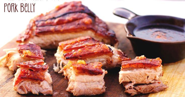 SPUNKY BUNS: Chinese Crispy Skin Pork Belly
