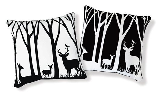 Deer pillows
