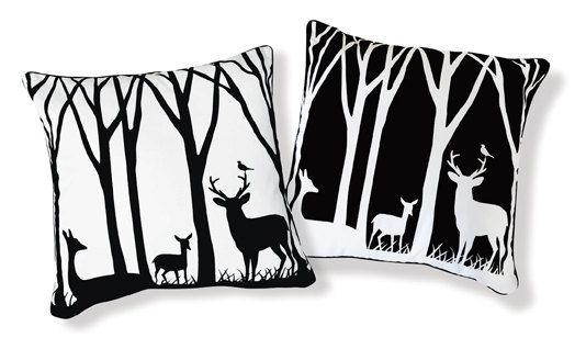 Deer pillows