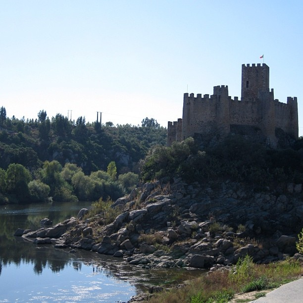 Castelo de Almourol #travel #portugal