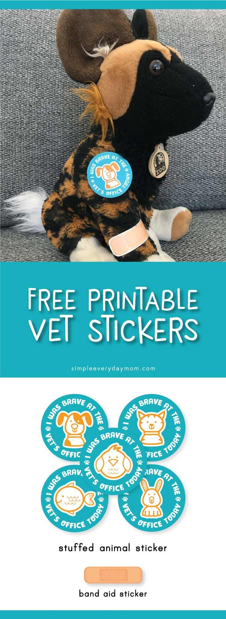 These Pretend Play Vet Clinic Printables Will Have Your