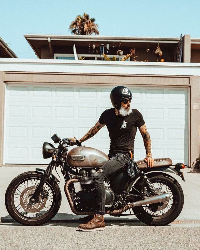 3a025035 Custom Culture Bobber & Chopper Motorcycles Style, Tattoo and Fashion /  Clothing Inspirations