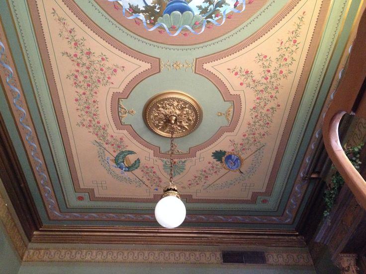 Ceiling detail - Lemp Mansion.