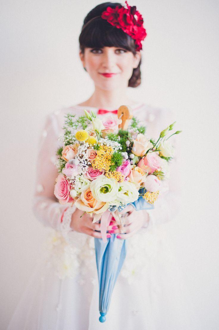 レトロ可愛い♡『メリーポピンズ』がテーマの結婚式を挙げたい*にて紹介している画像