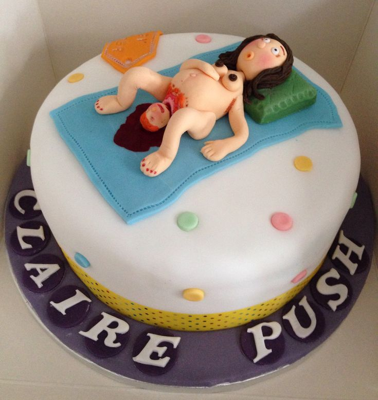 Birthday Cake Images With Name Bittu : Vulgar baby shower cake (woman giving birth) A little ...