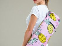 Yoga mat bag - pinneapples