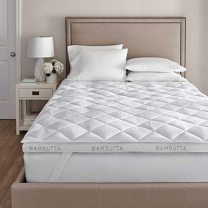 Wamsutta® 2 Inch Fiberbed Twin XL Mattress Topper | Bed Bath