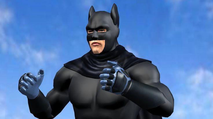 Bat Man Finger Family caught thief / Superheroes Finger Family / Finger ...