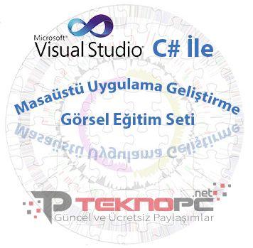 C# ile Uygulama Geliştirme Görsel Eğitim Seti