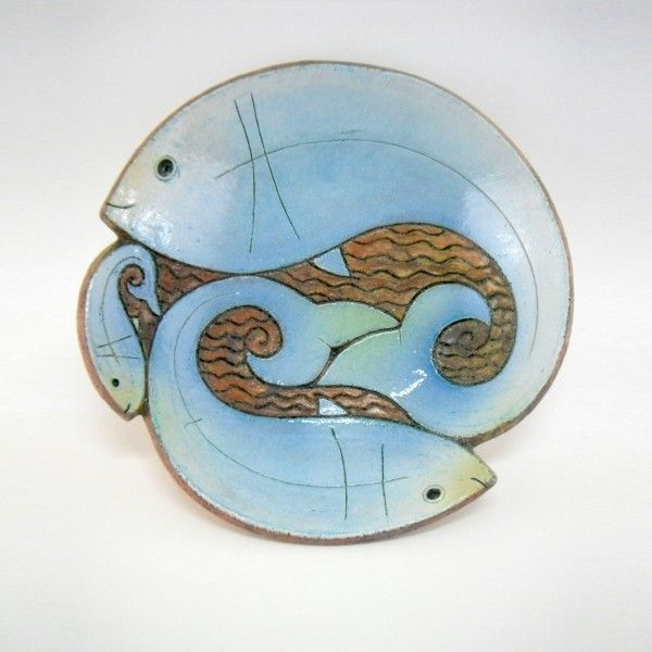 ceramic fish bowl design