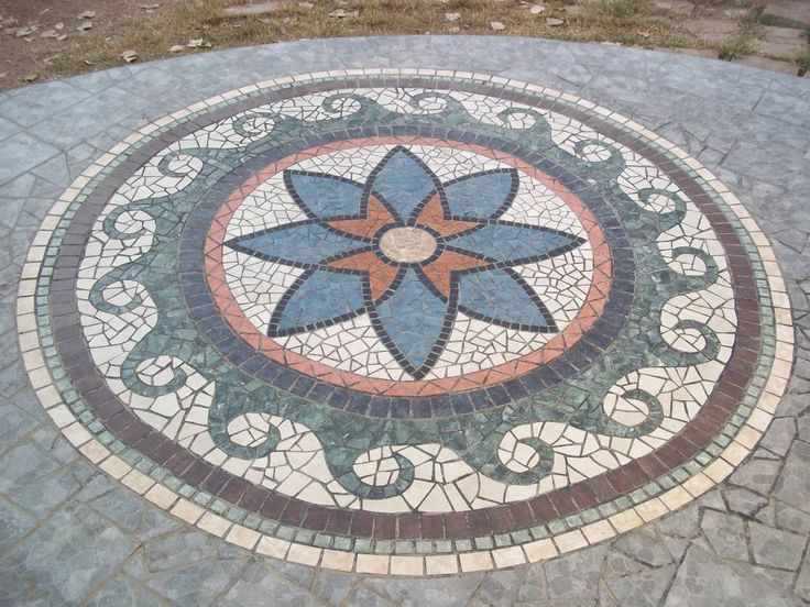 17 mejores ideas sobre pisos en mosaico en pinterest for Mosaico para piso