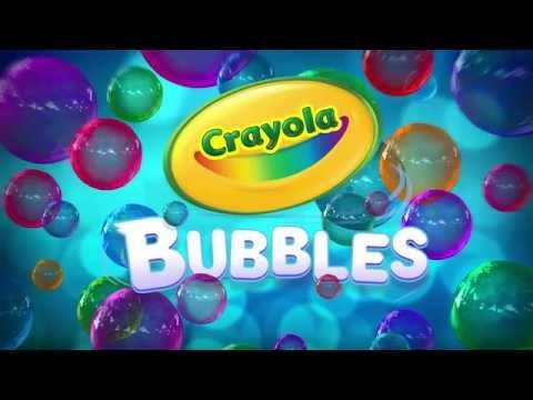 CRAYOLA BUBBLES APP, NOW AVAILABLE FOR iPAD