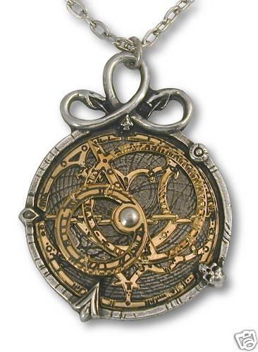 ~ Astrolabe Brass Steampunk Necklace ~: Pendants Necklaces, Alchemy Gothic, Astrolab Brass, Anguistralob Alchemy, Steampunk Jewelry, Brass Steampunk, Gothic Astrolab, Astrolab Pendants, Steampunk Necklaces
