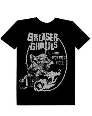 ZOMBIE YOU MONSTERS - MENS GREASER SHIRT