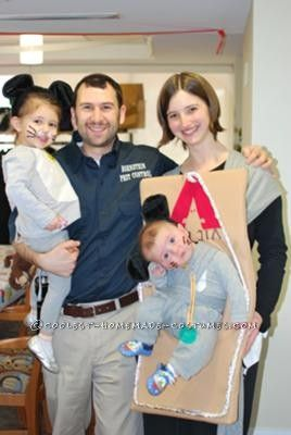 coolest pest control costume great way to incorporate a baby carrier into the costume - Best Site For Halloween Costumes