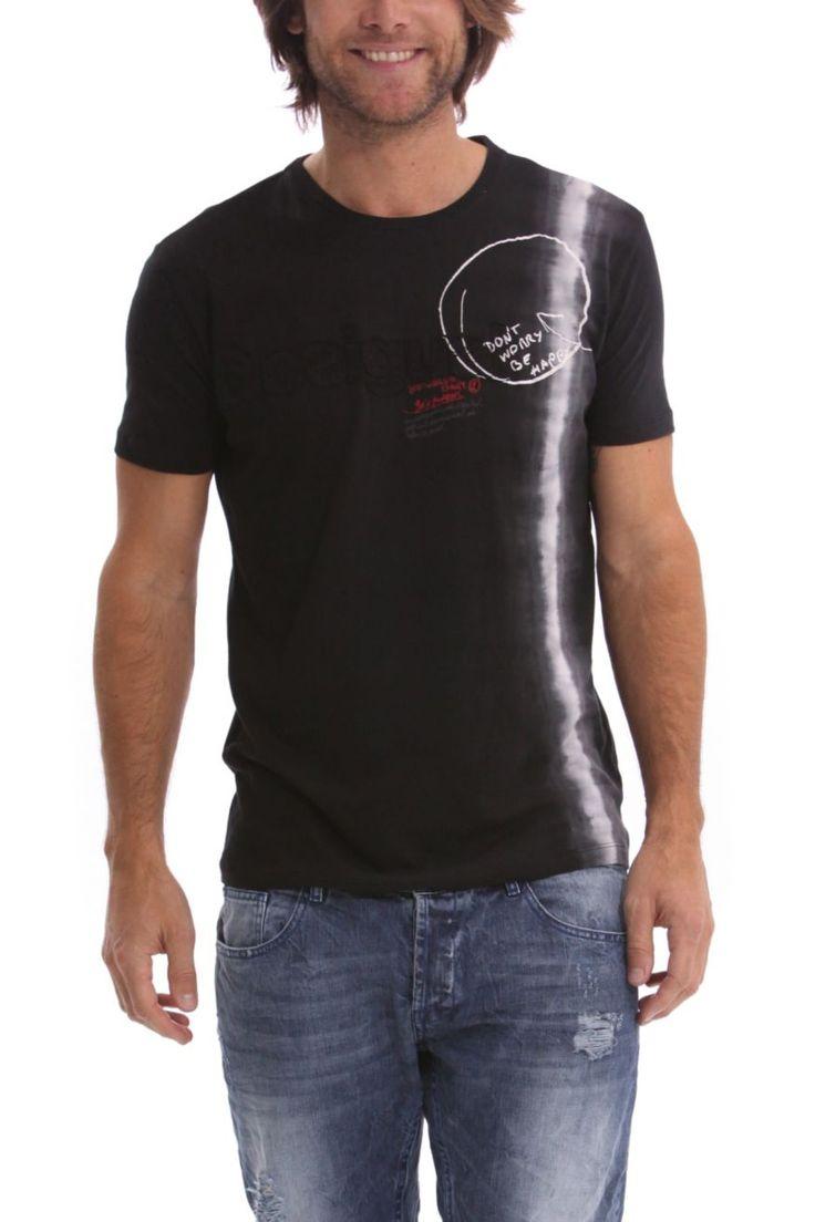 "Desigual Men T-Shirt ""Divine"" 41T1459 | Canada |"
