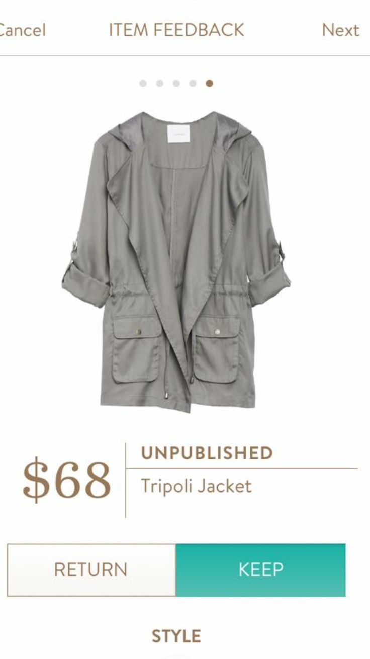 Unpublished Tripoli Jacket This looks so fun! I love that it's got that oversized vibe and it's a fabulous neutral. The price is fabulous too.