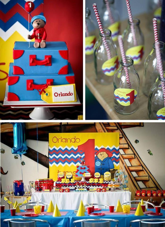 Paddington Bear Party with So Many Cute Ideas via Kara's Party Ideas | KarsPartyIdeas.com #PaddingtonBear #paddingtonbearparty
