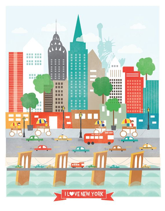 Très Best 25+ New york illustration ideas on Pinterest | New york  XL02
