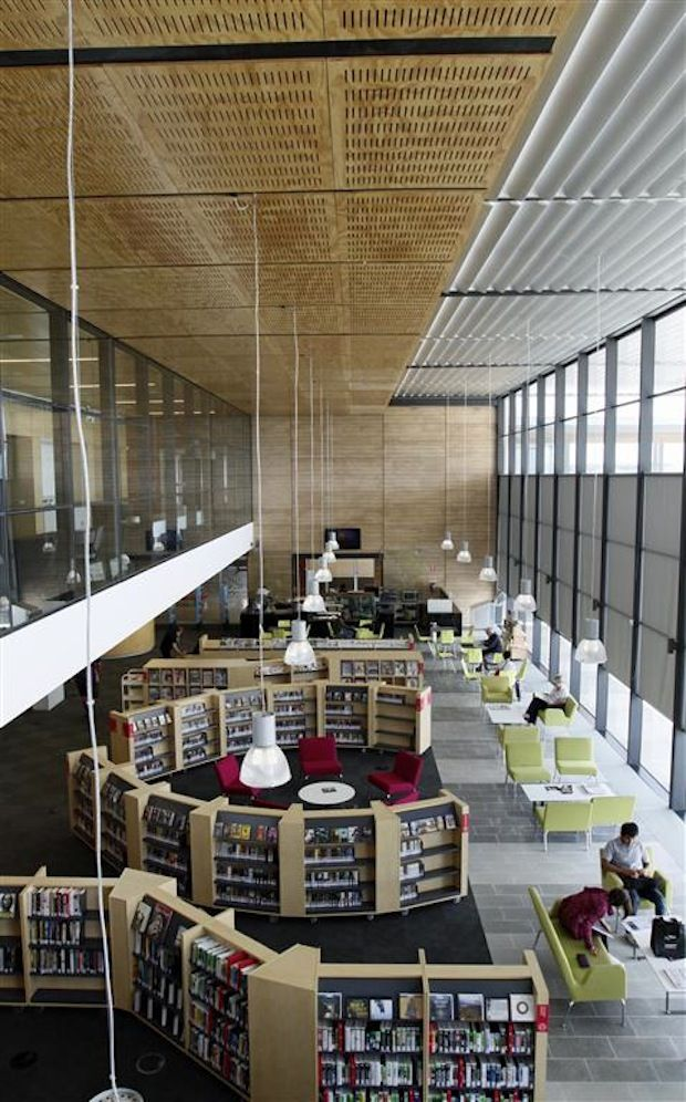 australian library wins international public library of the year award 2014 architecture and design - Library Design Ideas