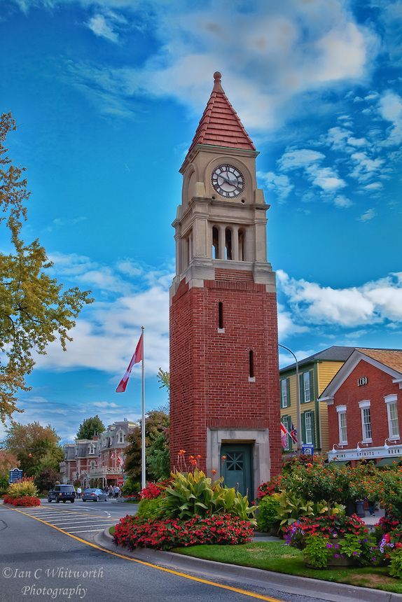 Scenic and charming town of Niagara-on-the-Lake.