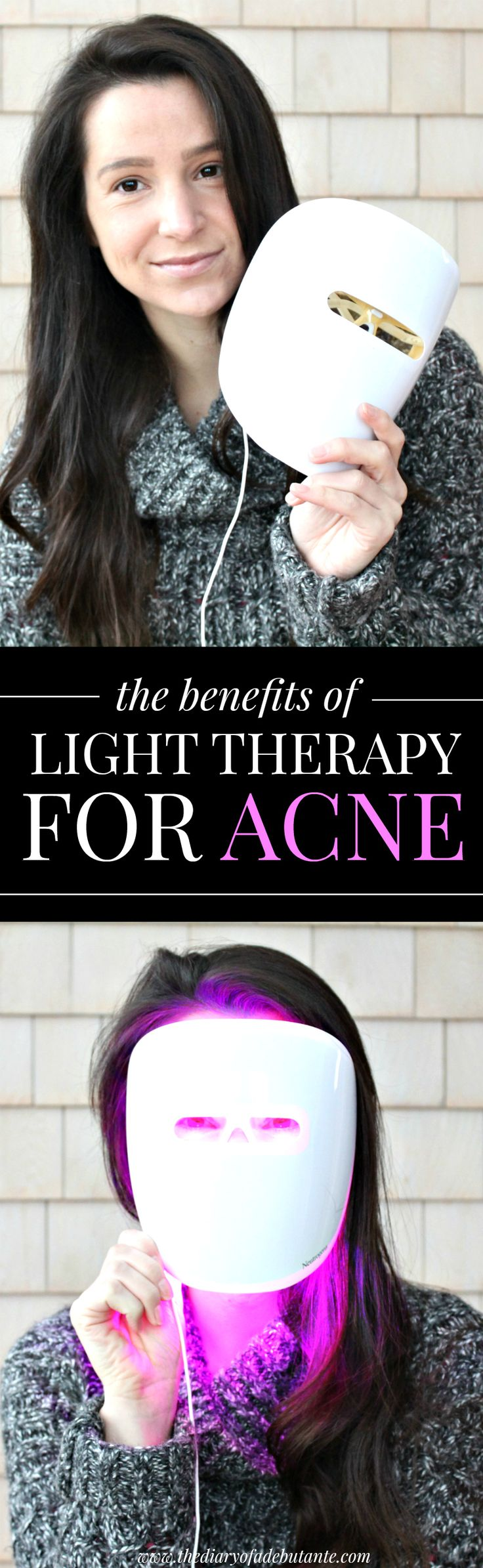 If you've ever considered using light therapy to treat acne, this post is a must read! She shares her experience using Neutrogena's new Light Therapy Acne Mask for 30 days.
