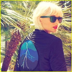 Taylor Swift Debuts Bleached Blonde Hair for Coachella 2016