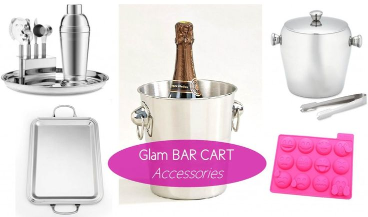 MG Decor: Update Your #Cocktail Style With These Glam Bar Cart Accessories